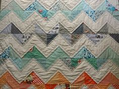 Cute zig zag quilt..