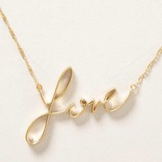 "Anthropologie SWEET NOTHINGS NECKLACE – NWT Anthropologie SWEET NOTHINGS NECKLACE – DETAILS: •   Retail $38 •   Color: Gold •   Lobster clasp •   14k gold plated metal •   18""L •   2.25"" pendant •   Imported •   Style No. 30657209 - Brand New with Tags Anthropologie Jewelry Necklaces"