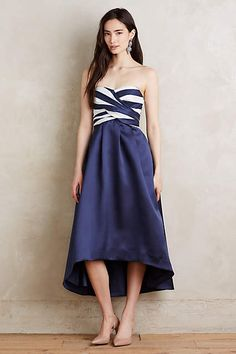 Strapless Esme Dress - anthropologie.com