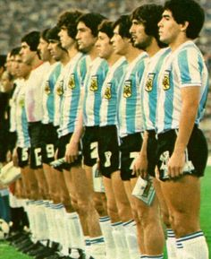 1979 Argentine Argentina Football Team, Argentina Team, Argentina National Team, World Football, Soccer World, Sport Football, Football Players, Steven Gerrard, Tokyo Verdy