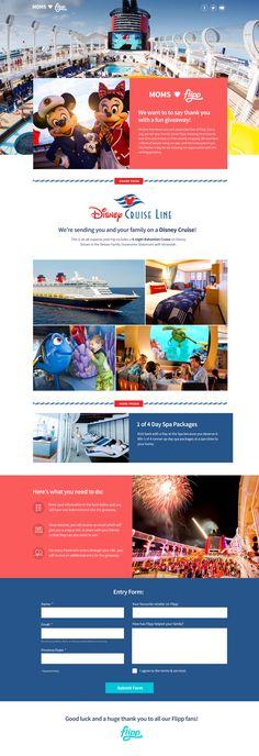 Disney cruise landing