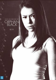 Orphan Black clone Beth Childs. She would probably be the most normal of the clones if she wasn't dead.