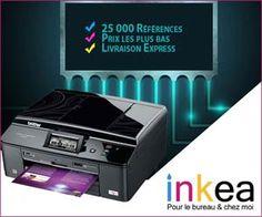 Inkea.fr : imprimantes, cartouches d'encre et consommables moins chers