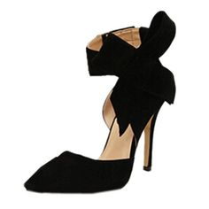 News Zeagoo Womens Faux Suede High Heels Pumps Bowknot Pointed Toe Shoes Party Scandals   buy now     $74.78 100% Brand New.  Material: Faux Suede  Style: Stilettos  Material: Faux Suede  4 sizes for selection: 37, 38, 39, 40(EU).  EU ... http://showbizlikes.com/zeagoo-womens-faux-suede-high-heels-pumps-bowknot-pointed-toe-shoes-party-scandals/
