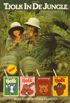 Tjolk, banana was my favourite! My Childhood Memories, Sweet Memories, 1990s Kids, Old Commercials, Vintage Ads, The Past, History, My Love, Posters