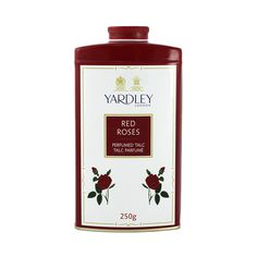 Yardley London Red Roses Perfumed Talc Powder (250g)