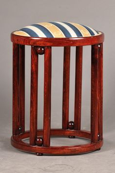 stool, designed by Joseph Hoffmann