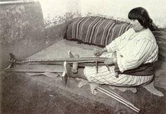 Navajo backstrap loom