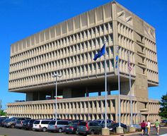 Marcel Breuer 1970 Armstrong Rubber Company – Headquarters – New Haven, CT – with Robert Gatje