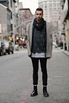 street style men new york.