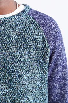 Koto Fleece Blocked Sweater
