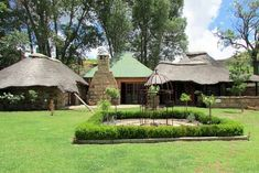 The Barbet Country Cottages - Clarens Accommodation. Couple Sleeping, Corner Bath, Wood Supply, Queen Room, Cottage Signs, Country Cottages, Free State, Family Getaways, Thatched Roof