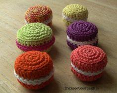 macarons de fraise