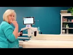 Quilting Edge-to-Edge Using Rows on the HQ Pro-Stitcher - YouTube