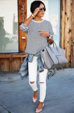 julie-sarinana-stripes-shirt-casual-street-style