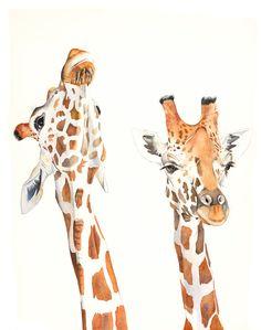 girafe-aquarelle-