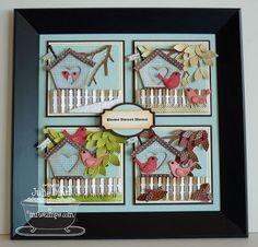 My Favorite Things Homespun Birdhouse Die Namics