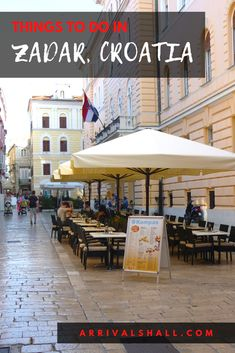 A guide to Zadar activities plus tips on dining, transport and accommodation. #travel #europe #croatia Croatia Itinerary, Croatia Travel Guide, Europe Travel Guide, Travel Guides, Europe Beaches, Stuff To Do, Things To Do, Activities, Dining