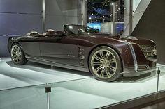 Cadillac Ciel  Luxury Convertible Concept Car Side by AntonStetner, via Flickr  #detroitautoshow #naias