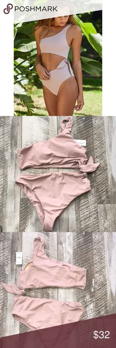 Nude Monokini Built in pads PacSun Swim One Pieces