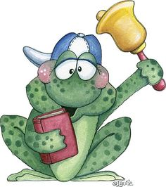 School Frog - Laurie Furnell