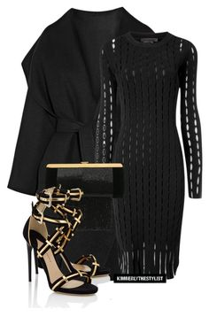 Untitled #2390 by whokd on Polyvore featuring polyvore fashion style Alexander Wang Bottega Veneta Paul Andrew Balmain women's clothing women's fashion women female woman misses juniors