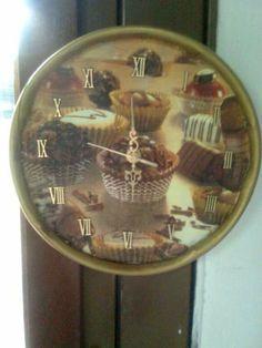 Reloj Muffins