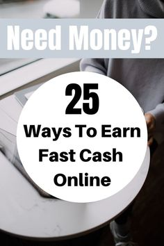 Looking to make quick income online? Here are 25 ways to make money quickly by doing fast jobs online that earn cash quickly. Simply find the one you like the most and use it! Check the list here. I Need Money Now, Free Money Now, How To Get Money Fast, Make Money Online, Quick Cash, Fast Cash, Savings Planner, Saving Money, Saving Tips