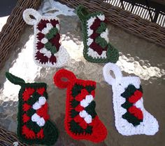 My Grandma made these stockings INSOMNIAC with a hook