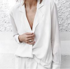 Prodigious Diy Ideas: Urban Fashion Outfits Women urban wear for men shirts. Beige Outfit, All White Outfit, White Outfits, Streetwear Mode, Streetwear Fashion, Minimal Fashion, Urban Fashion, Net Fashion, Style Fashion