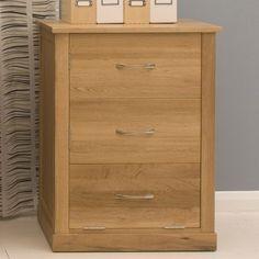 contempo oak printer cupboard