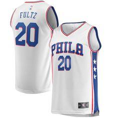8faae182e Men's Philadelphia 76ers Markelle Fultz Fanatics Branded White Fast Break  Replica Jersey - Association Edition