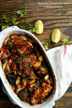 A can't go wrong recipe, this Tandoori Roast Chicken and Vegetables can be made in your oven, ready for you in just about 45 mins or so. Our lunch plans with some friends got cancelled the Sunday before last and I got some time to make something nice for a Sunday lunch and also make...Read More »