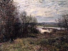 The Roches-Courtaut Wood, near By - Alfred Sisley - The Athenaeum