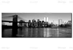 Tableau New York : vue sur Manhattan