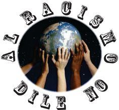 Cartel reivindicando el no racismo hacia ninguna etnia