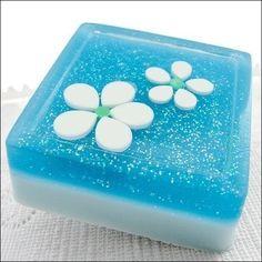 So cute soap and very pretty.