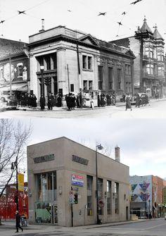 https://flic.kr/p/aWn1Qk | 1936-2011 | La Banque Royale du Canada, intersection des rues Sainte-Catherine est et Amherst. Source : Archives de la Ville de Montréal, VM94-Z114