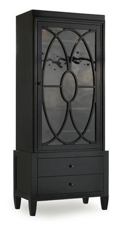 Melange Display Cabinet - Hooker Furniture - So multifunctional - Dining, Living, Entry, Master Bathroom Storage