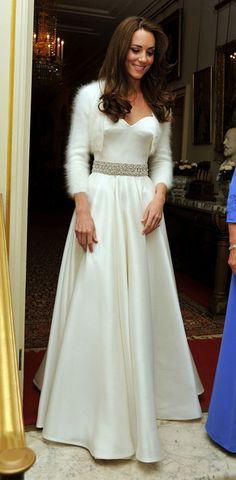 The Royal Wedding: Kate & #William | reception dress