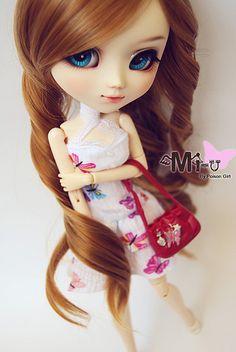 Pullip custom ; originally a craziia , but then customized by aya on Flickr ! Poison girl's mi-u on Flickr ! ❤'