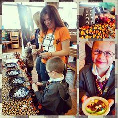 @Wegmans Halloween Kids Party featuring #organic snacks