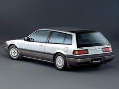 1988 Honda Accord Aerodeck - magnificent handling and performing shooting brake. Fond memories of a weekend trip to Germany in one.