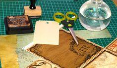 Técnicas Scrapbooking: Envejecido de papel   Scrapbookpasion