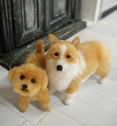1/12 scale miniature dogs by Takumi Takanashi