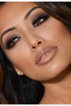 Makeup for brown eyes, dark hair & olive skin tone
