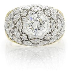 A diamond dome ring, Mario Buccellati
