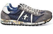 Blauwe Premiata schoenen Lucy sneakers