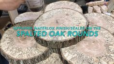 Watch our customer Nate apply Waterlox on this spalted oak!