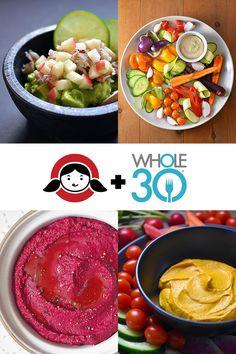 Whole30 Veggie Dips by Michelle Tam / Nom Nom Paleo http://nomnompaleo.com